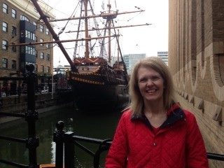 Golden Hinde.London Jacqui