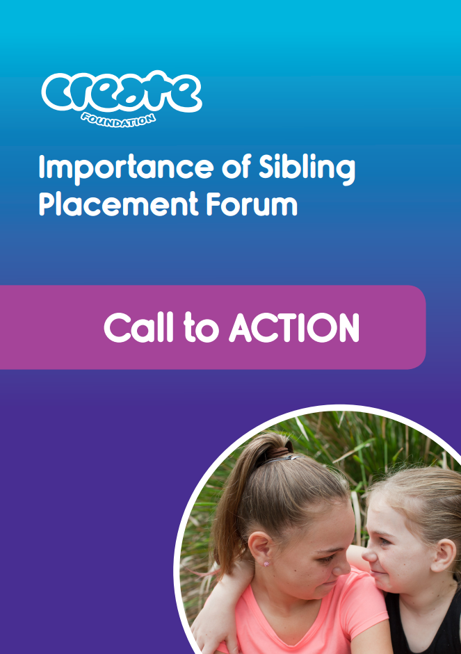 CREATE Sibling Placement Forum