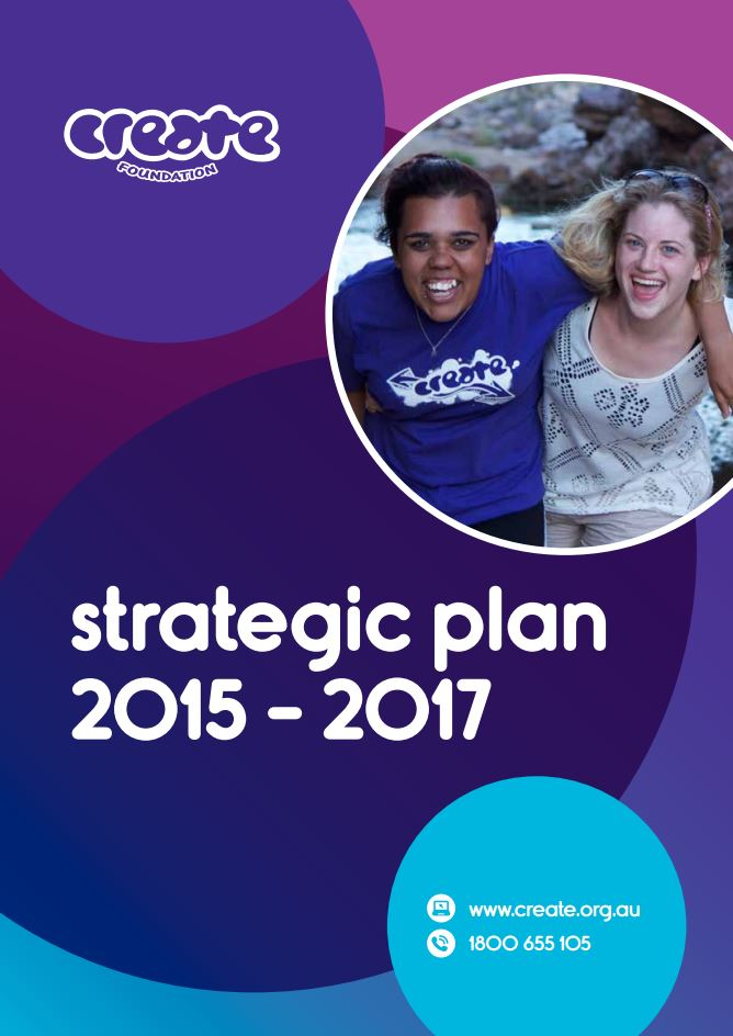 CREATE Stragetic Plan 2015 - 2017 cov