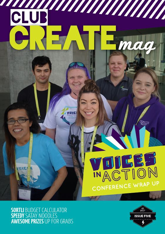 clubCREATE Over 12s Magazines - Edition 5 | October 2017