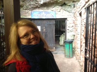 Jacqui cave entrance