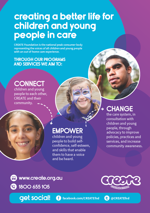 CREATE Poster - Connect Empower Change