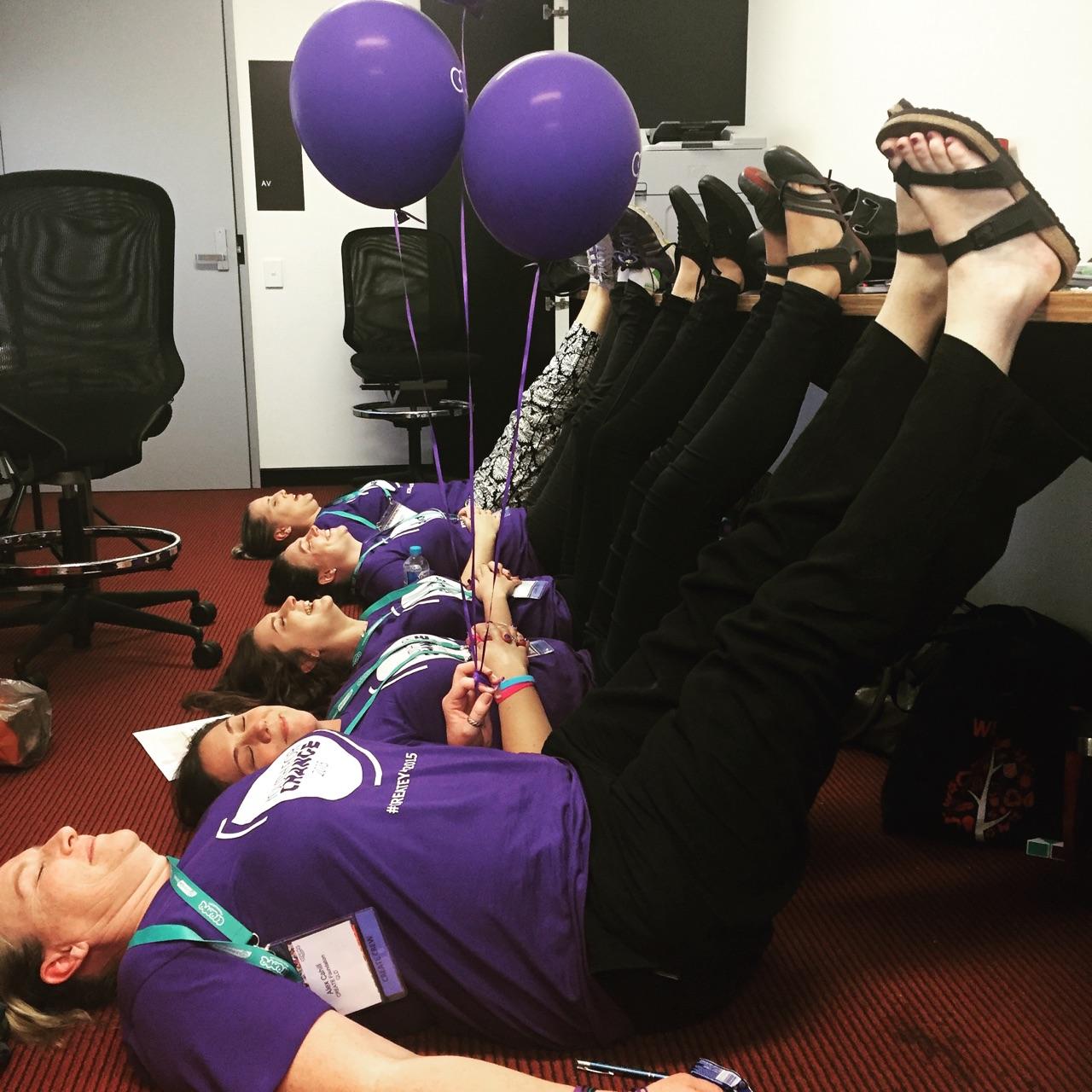 Staff tired