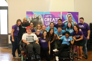 The CREATE Crew at the inaugural event at Redfern Town Hall