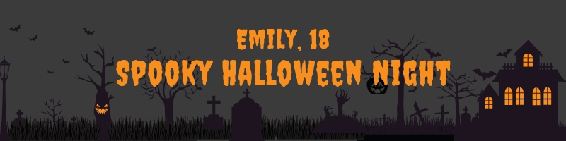 Emily, 18. Spooky Halloween Night Poem