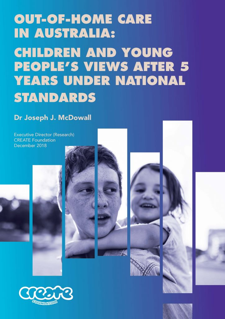 CREATE's 2018 Report Standard Version