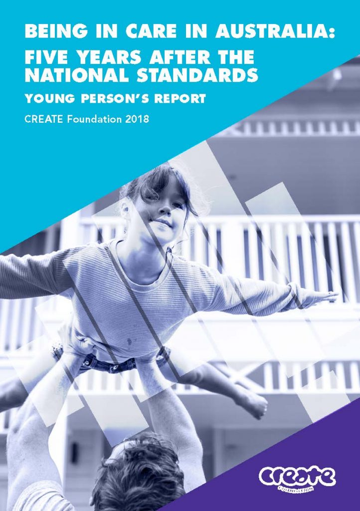 2018 CREATE Young Person Report