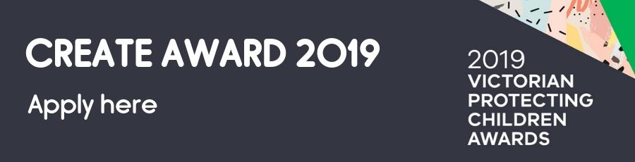 CREATE Award 2019 Victoria