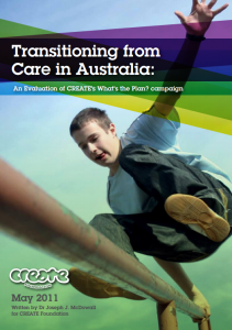 Transitioning from Care in Australia