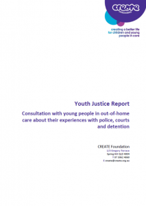Youth Justice Report